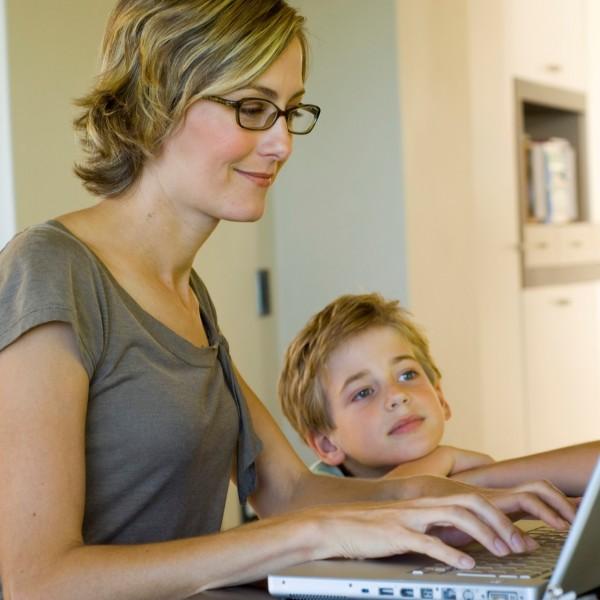 Мама и работа